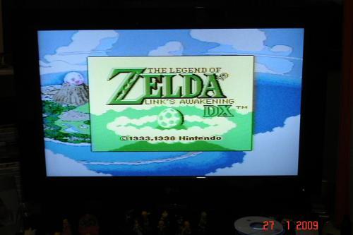Zelda DX - Tela Inicial