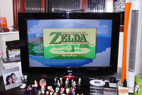 "Zelda DX na ""telona"""