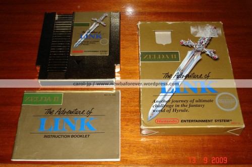 Zelda II - The Adventure of Link GOLD