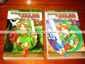 Manga Zelda - Frente