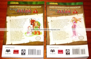 Manga Zelda - verso